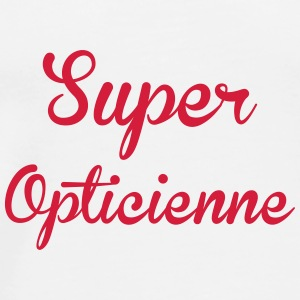 Super Opticienne Kopper & tilbehør - Premium T-skjorte for menn
