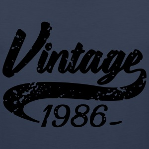 Vintage 1986 T-Shirts - Men's Premium Tank Top