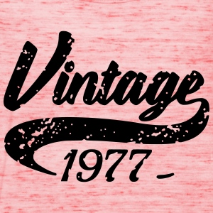 Vintage 1977 T-Shirts - Women's Tank Top by Bella