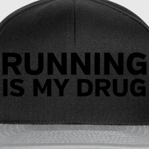 Running Is My Drug T-shirts - Snapback Cap