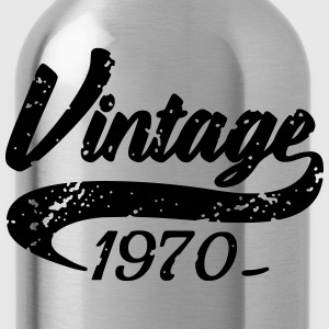 Vintage 1970 T-Shirts - Water Bottle