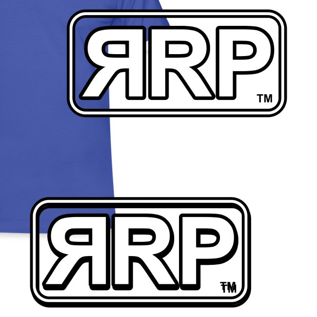 RRP T-Shirt (WHITE / BLACK BANDS)