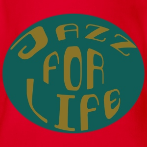Jazz for life 2 Tee shirts - Body bébé bio manches courtes