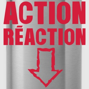 action reaction fleche pointe bas sexe Tee shirts - Gourde