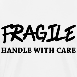 Fragile - Handle with care Skjorter med lange armer - Premium T-skjorte for menn
