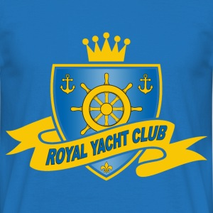 Royal yacht club 01 Sweat-shirts - T-shirt Homme