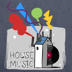 House Music T-Shirts - Schultertasche aus Recycling-Material