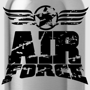 air force T-Shirts - Trinkflasche