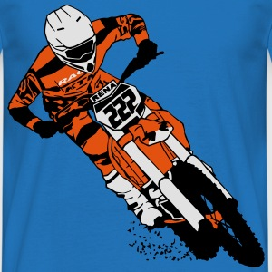 Moto Cross - motocross  Gensere - T-skjorte for menn