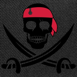 pirate skull T-Shirts - Snapback Cap