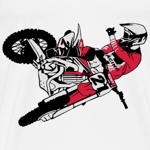 Moto Cross - motocross  Sports wear - Men's Premium T-Shirt