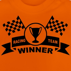 winner racing team Shirts - Baby T-Shirt