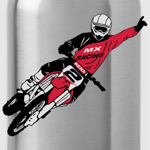 Moto Cross - motocross  Hoodies & Sweatshirts - Water Bottle