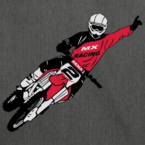 Moto Cross - motocross  Hoodies & Sweatshirts - Shoulder Bag made from recycled material