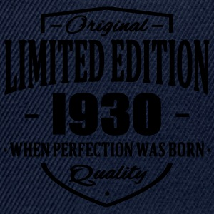 Limited Edition 1930 Tee shirts - Casquette snapback