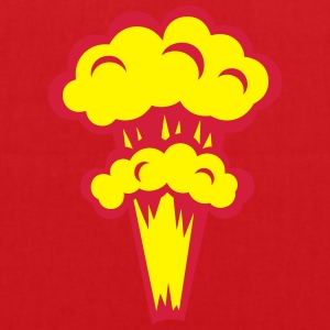 explosion nucleaire atomique 1501 Tee shirts - Tote Bag