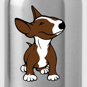 Bull Terrier Pup Brown Kids Premium T-shirt - Water Bottle