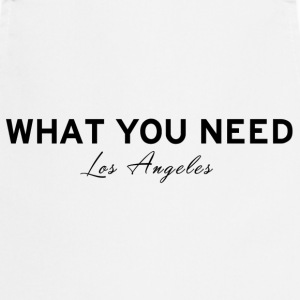 What you need Los Angeles - Cooking Apron