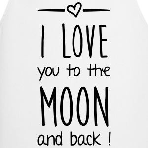 I love you to the moon Pullover & Hoodies - Kochschürze