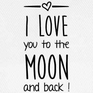 I love you to the moon Pullover & Hoodies - Baseballkappe