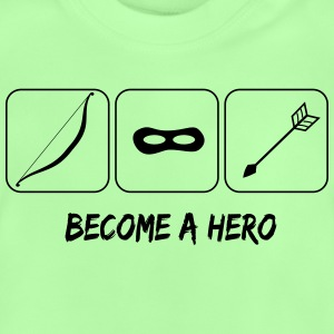 Become a hero Camisetas - Camiseta bebé