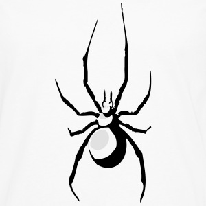 Spin insect aard T-shirts - Mannen Premium shirt met lange mouwen
