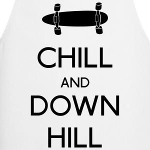 Chill and downhill chill en afdaling T-shirts - Keukenschort