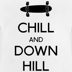 Chill and downhill chill y descenso Camisetas - Camiseta bebé