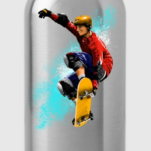 skateboarding T-Shirts - Water Bottle