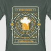 Antraciet this beer tastes like... T-shirts - Mannen Bio-T-shirt