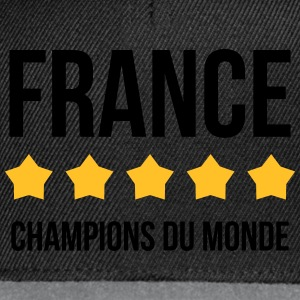 France : Champions du monde Tee shirts - Casquette snapback