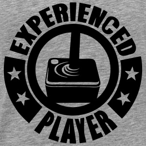 experienced player Logo Joystick Tops - Männer Premium T-Shirt