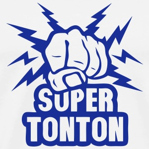 super tonton poing fermer force eclair Sweat-shirts - T-shirt Premium Homme