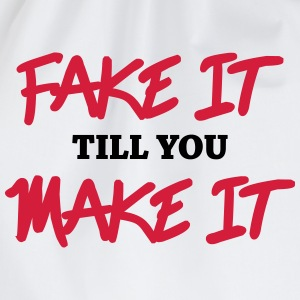 Fake it till you make it Skjorter med lange armer - Gymbag