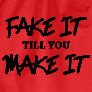 Fake it till you make it Manches longues - Sac de sport léger