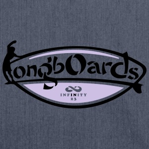 Longboards T-Shirts - Shoulder Bag made from recycled material