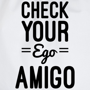 Check Your Ego T-Shirts - Turnbeutel