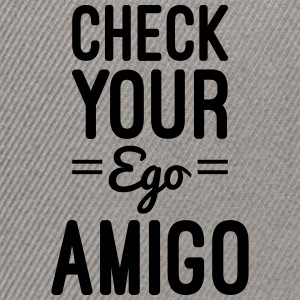 Check Your Ego Pullover & Hoodies - Snapback Cap