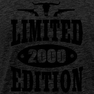 Limited Edition 2000 Hoodies & Sweatshirts - Men's Premium T-Shirt