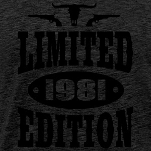 Limited Edition 1981 Sweat-shirts - T-shirt Premium Homme