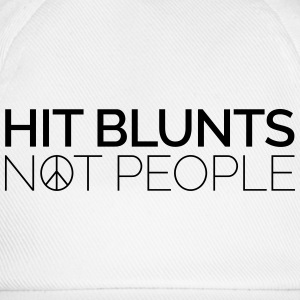 Hit Blunts, Not People T-Shirts - Baseballkappe