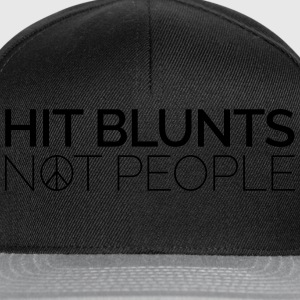 Hit Blunts, Not People T-shirts - Snapbackkeps