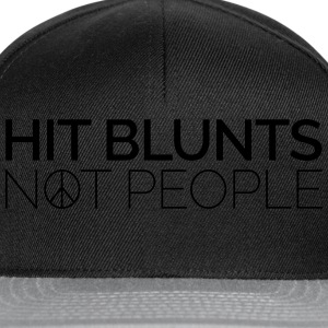 Hit Blunts, Not People Sweat-shirts - Casquette snapback