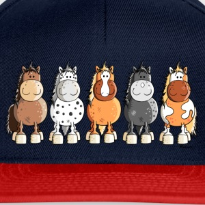 Happy Horses T-Shirts - Snapback Cap