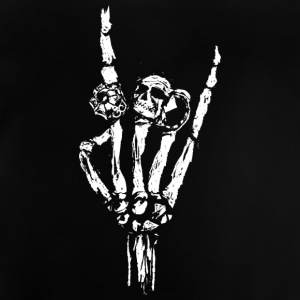 Skeleton hand with rings Shirts - Baby T-Shirt
