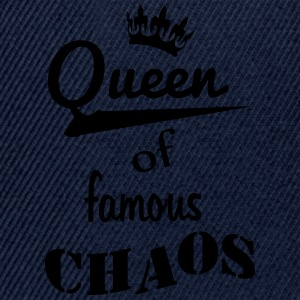 queen_of_chaos_2 Tops - Snapback Cap