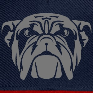 chien bulldog tete animaux sauvage 7012 Tee shirts - Casquette snapback
