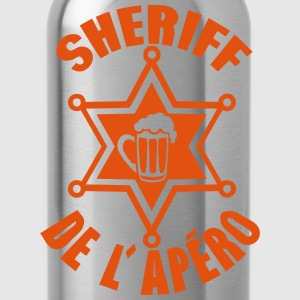 sheriff apero biere etoile alcool humour Manches longues - Gourde