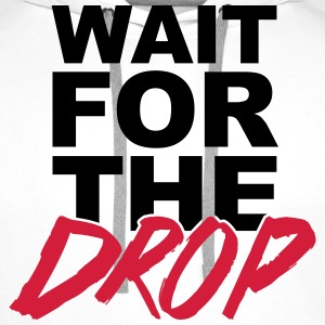 Wait For The Drop  T-skjorter - Premium hettegenser for menn