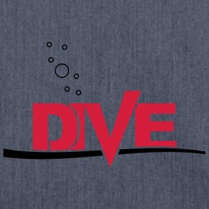 Dive - Schultertasche aus Recycling-Material